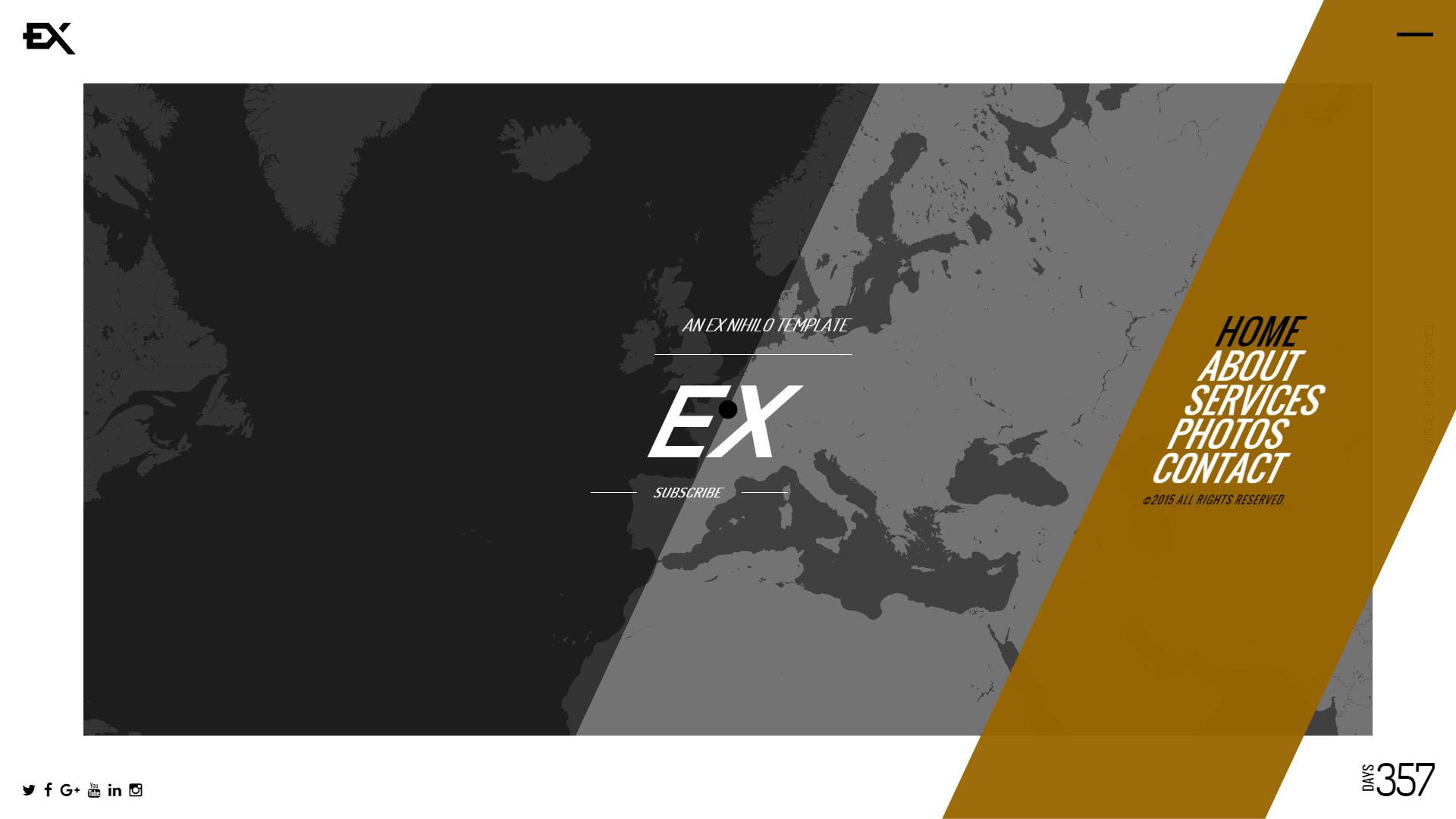 Ex || Responsive Under Construction Template